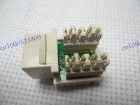 50 Pcs LOT Keystone 8P8C CAT5e RJ45 Network Cable Socket Punch Down Jack White