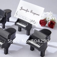 Free shipping Factory directly sale piano place card holder favor