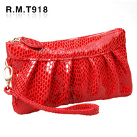 2012 genuine leather women's day clutch coin purse cowhide clutch female clutch bag women's handbag small bags free shipping