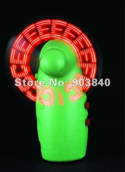Christmas gift, LED corporate gifts for advertisement gifts,LED FLASHING FANS(China (Mainland))