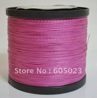 NEW 1pcs 1500YD 100LB Pink Color 100% Spectra PE Braid fishing line