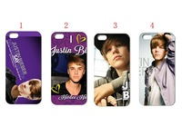 Unique Newest Designs!!wholesale 5PCS JUSTIN BIEBER hard white case back cover for iPhone 5 5th 5G