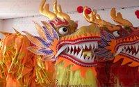 Chinese DRAGON DANCE ORIGINAL Dragon Chinese Folk Festival Celebration Costume