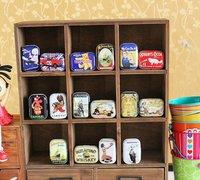 M30-094 Free Shipping/New vintage European memory series quality iron case / storage case /  tin box