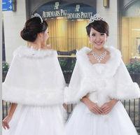 Free Shipping Fur shawl 2012 white bride cape wedding wrap formal dress cheongsam cape autumn and winter