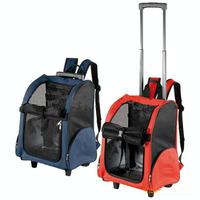 Pet trolley bag double-shoulder back dog pack portable pet bags dog backpack pet bag portable