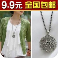wholesale 10 /lot 1830 bohemia women's summer cutout decorative pattern pendant necklace female necklace