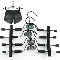 2014 NEW clip wholesale 10pcs/lot 68 quality sponge slip-resistant hanger slip-resistant hanger slip-resistant pants clip racks