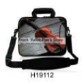 "Free Shipping! 15"" 15.4"" 15.6"" Yufen Pan Laptop notebook Bag Case cover with Shoulder Strap +piano design  Buy one get one Free"