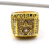 Free shipping 2010 new orleans saints super bowl championship ring
