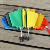 Rainbow umbrella folding umbrella sun protection umbrella advertising gift unique
