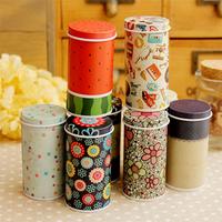 Retail Small fresh tin cylinder portable storage box (KG-11)