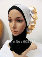 free shipping hot drill indian muslim higabs,arab scarf,islamic scarf,kerchief,islamic hijab,muslim scarves,inner caps A-tt087