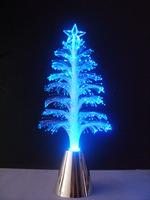 FREE SHIPPING  Christmas tree fiber optic light novelty lamps
