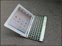 Aluminum Material Mobile bluetooth keyboard for Ipad 2 ipad3 ipad4