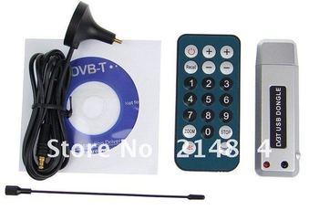 Free Shipping High Quality DVB-T for  PC Laptop MINI DIGITAL TV Tuner USB Stick HDTV