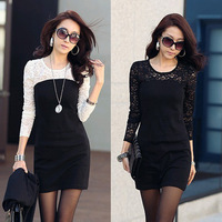 Футболка 1 Piece Free Shipping 2012 Hot Sale Women's Elegant Short Sleeve Shirt With Rhinestone and Belt ,3 Colors, Free Size,FWO10083