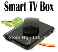 Smart TV box Google Android 4.0 TV BOX, Amlogic Cortex A9,1.2Ghz CPU, WiFi control, HD 2160P HDMI Internet TV Box 4GB,