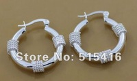 GY-PE108 Free Shipping 925 silver fashion jewelry earring 925 silver earrings wholesale apia jgpa rxya