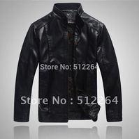 Free shipping 2012 hot sale men spring high-grade Genuine lerther Sheep skin leather jacket coat