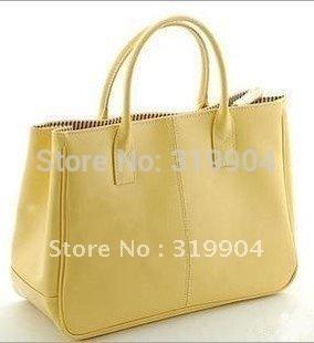 Fashion 2013  High quality work bag Commuter bag  women's handbag  PU