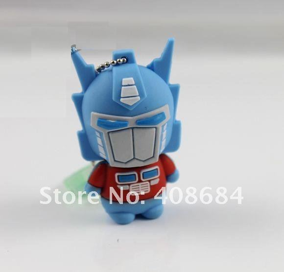Transformers bumblebee USB flash drive disk 4GB 8GB cartoon usb free shipping(China (Mainland))