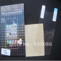 Clear Screen Protector For MOTO XT882 LCD Screen Guard With Retail Package Free Shipping