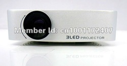 Portable LED Projector with TV Tuner for Home Theater(China (Mainland))