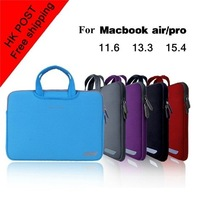 Сумка для цифровых устройств High Quality laptop Handbag Messenger Bag Case Smart Cover Protector For 11.6 13.3 inch Apple MacBook Pro / Air