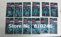 New Design! 400pcs/lot Fashion Family Car Stickers