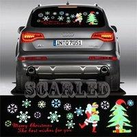 Auto LED Lights Decorative Lamps Universal Car Music Rhythm Light electroluminescent EL Panel