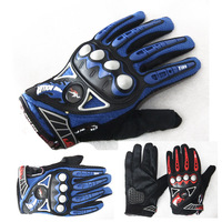 Pro-biker motorcycle gloves slip-resistant drop resistance gloves racing gloves mcs-23 chromophous