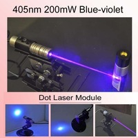 405nm 200mW Blue-violet Dot  Laser Module