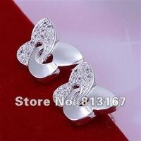 LQ-E146 Free Shipping 925 silver fashion jewelry earring 925 silver earrings wholesale aipa izwa rrfa
