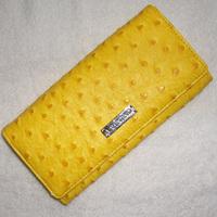 Free shipping Women's multifunctional multi card holder long design ostrich grain wallet multicolor 1026