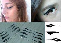 EMS 1000 sets  Vintage Eye liner Sticker Shadow Sticker Smoky Eyes Sticker/eyebrows stickers
