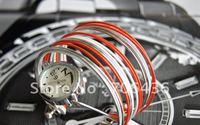Special the wholesale Korean students bracelet watch ladies fashion quartz watch 24 pcs/lots