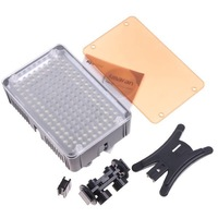 2pieces Pro Aputure AL-160 160 LED Video Light Camera Light Bulb Photo Lighting 5600K For Canon Nikon Pentax Olympus