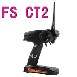 FS GT2 2CH 2.4 GHz Radio Remote Control Transmitter and Receiver for RC Car Boat 3PK(China (Mainland))