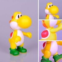 "New Super Mario 5"" Yoshi Yellow Action Figure Toy"