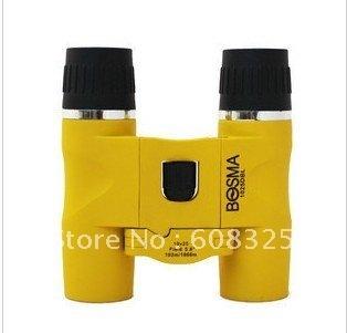 Bo crown BOSMA pocket binoculars surf 10 x25 orange edition high power portable tourism concert