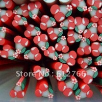free shipping -nail fimo cannes cherry