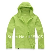 FREE shipping, The stylish sportswear Women/men's Camping Windproof Jackets fashion Outerwear  Coats  S-XXL