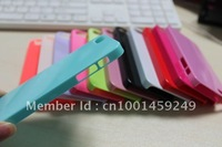 500PCS New Hard Ultra Slim Snap-on candy case cover skin for iphone 5 5S Gen Accessory free shipping by DHL