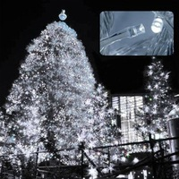 one piece 10m white led string light 100 leds wedding partying xmas christmas tree decoration lights lighting