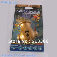 New portable fishing Joy cannon TF card speaker mini speaker, Free shipping