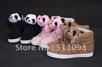 2012 free delivery teddy bear shoe tide of leisure shoes