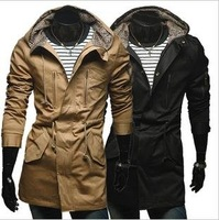 Free shipping men's down jackets,fashion warm coat for winter,black orange size M-2XL 102