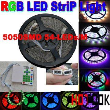 rgb led Chasing light 5050 waterproof 5m 12V 54LED/m IP65 Article Running LED Strip Light Warranty 2 year CE RoHS x 2pcs(China (Mainland))