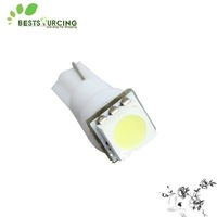free shipping special offer 10pcs 12V Car Led Light White T5 1 SMD 5050 Dashboard Bulb lamp